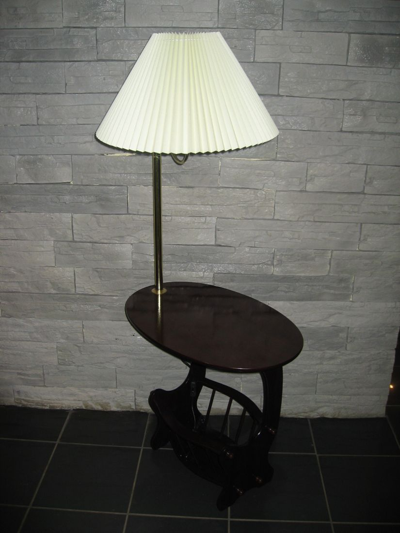 Торшер со столиком Вега